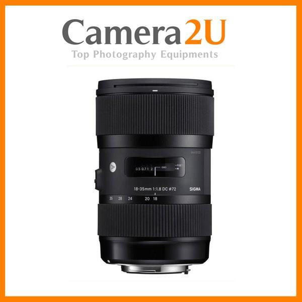 NEW Sigma 18-35mm F1.8 DC HSM Art Lens For Canon