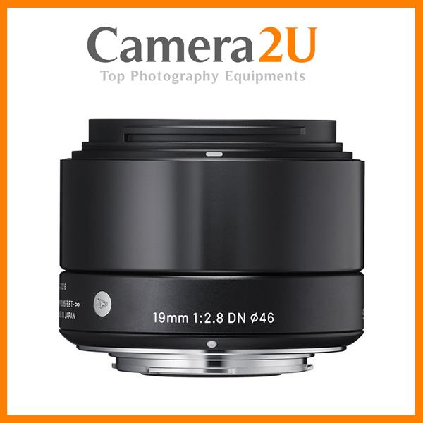 NEW Sigma 19mm f/2.8 DN Art for Olympus (Black)
