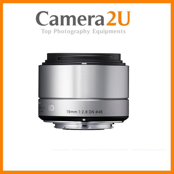 Sigma 19mm f/2.8 DN Art for Olympus MFT Cameras (Silver)