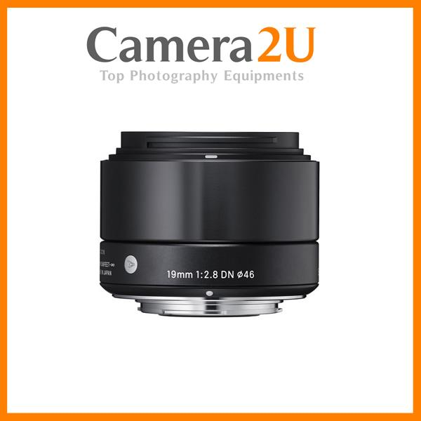 Sigma 19mm f/2.8 DN Art for Panasonic MFT Cameras (Black)
