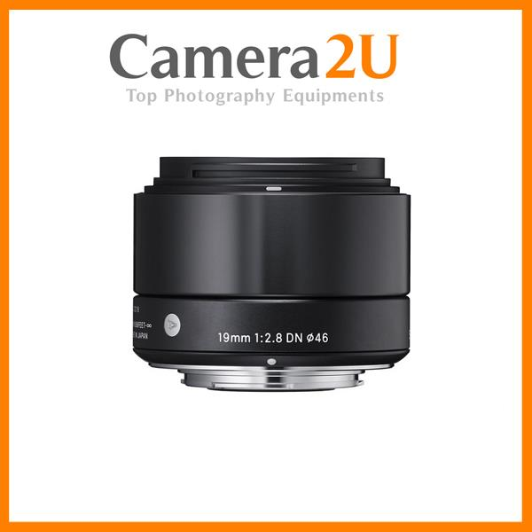 Sigma 19mm f/2.8 DN Art for Sony E-mount Cameras (Black)