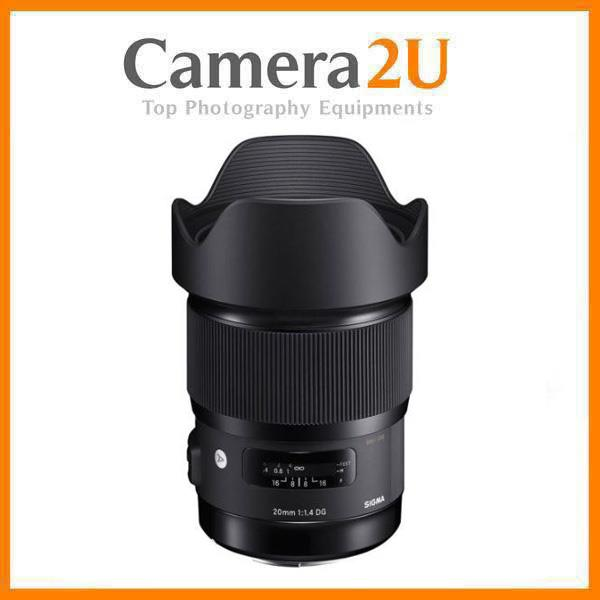 Sigma 20mm f/1.4 DG HSM Art Lens