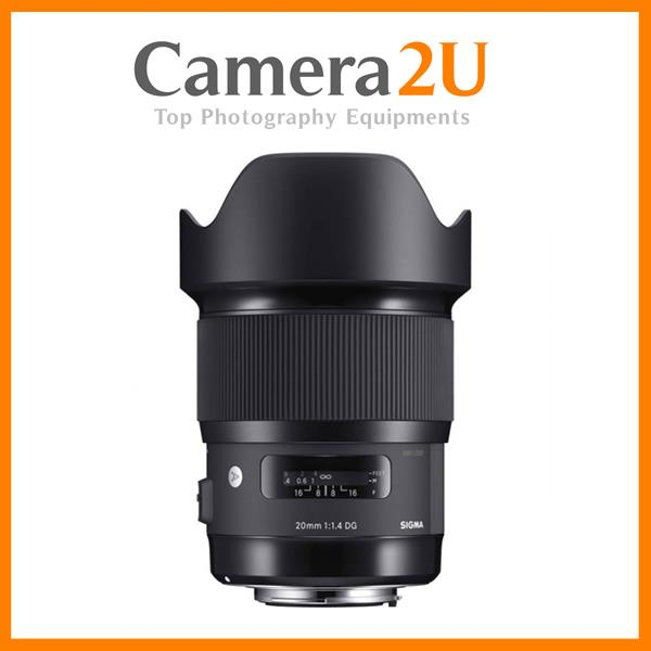 Sigma 20mm F1.4 DG HSM ART Lens for Nikon Mount
