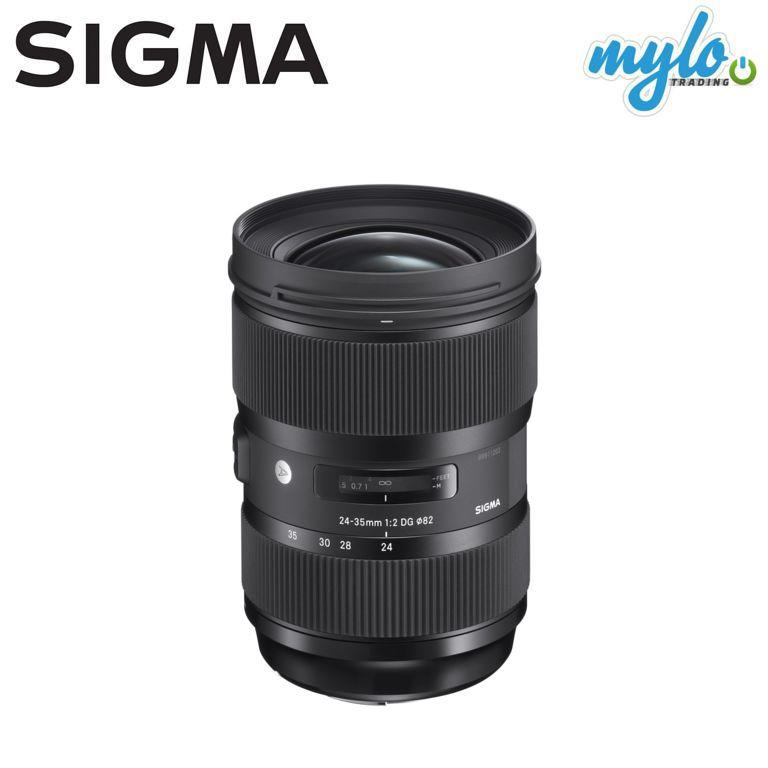 Sigma 24-35mm f/2 DG HSM Art Lens