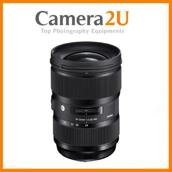 NEW Sigma 24-35mm F/2 DG HSM Art Lens for Canon Mount