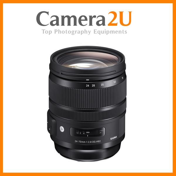 NEW Sigma 24-70mm f/2.8 DG OS HSM Art Lens for Canon Mount