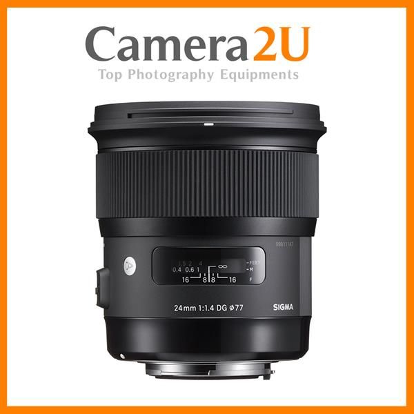 NEW Sigma 24mm f/1.4 DG HSM Art Lens