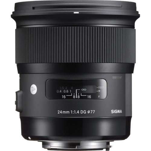 Sigma 24mm f/1.4 DG HSM Art Lens for Canon EF(SIGMA MALAYSIA)