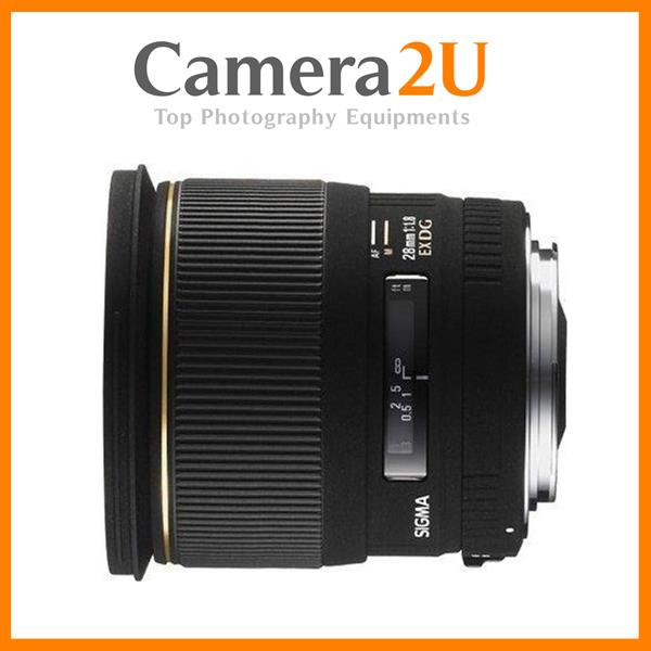 Sigma 28mm F1.8 EX DG ASPHERICAL MACRO for Sony