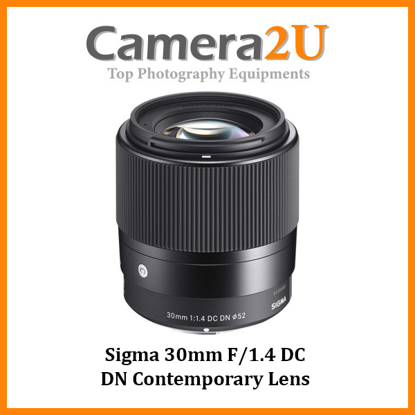 Sigma 30mm f/1.4 DC DN Contemporary Lens For Sony E Mount (MSIA)