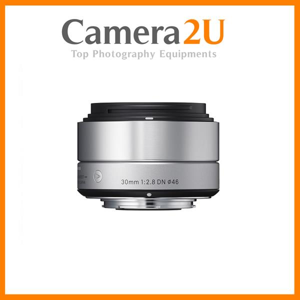 Sigma 30mm f/2.8 DN Art Lens for Olympus MFT Cameras Silver