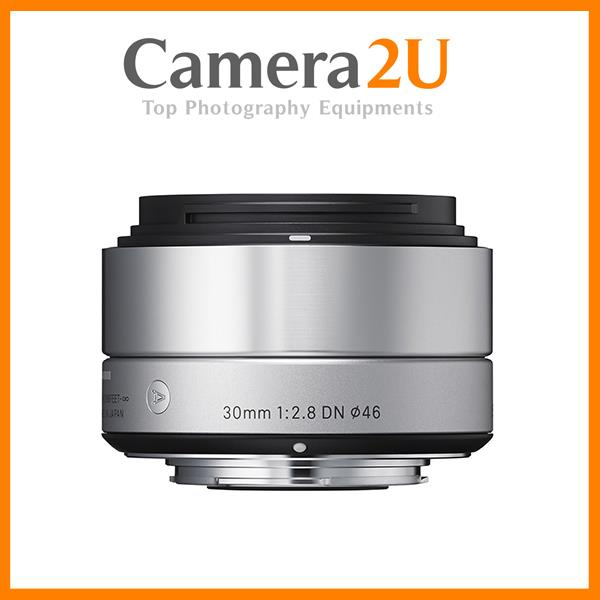 NEW Sigma 30mm f/2.8 DN Art for Sony (Sliver)
