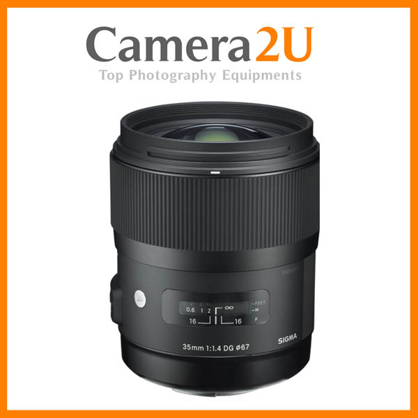 NEW Sigma 35mm F1.4 DG HSM Art Lens For Nikon