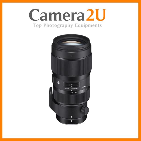 Sigma 50-100mm f/1.8 DC HSM Art Lens for Nikon EF (Import)