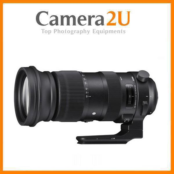 NEW Sigma 60-600mm f/4.5-6.3 DG OS HSM Sports Lens