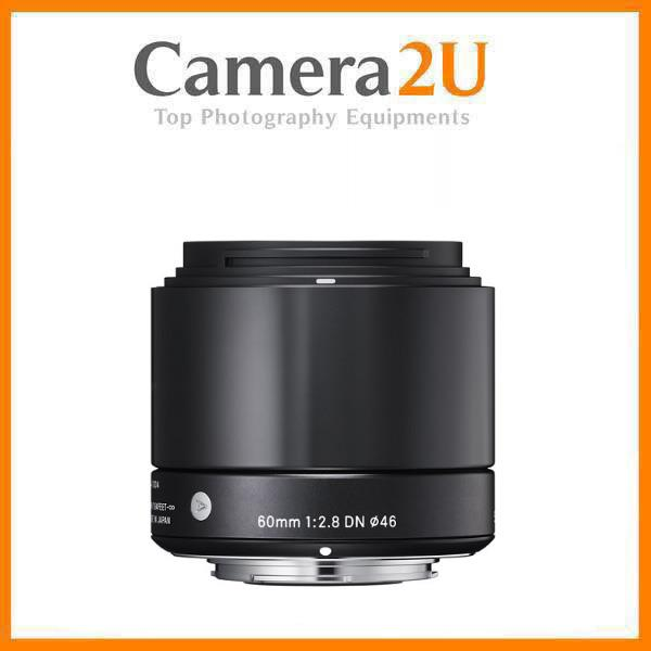NEW Sigma 60mm f/2.8 DN Art Lens for Olympus MFT Cameras Black