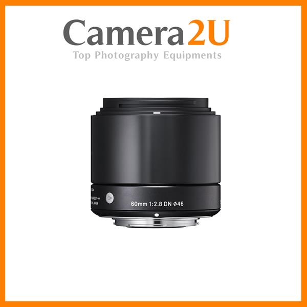 Sigma 60mm f/2.8 DN Art Lens for Panasonic MFT Cameras Black
