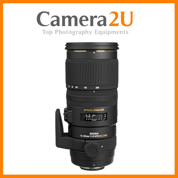 NEW Sigma 70-200mm F2.8 EX DG OS HSM APO Lens For Canon Mount