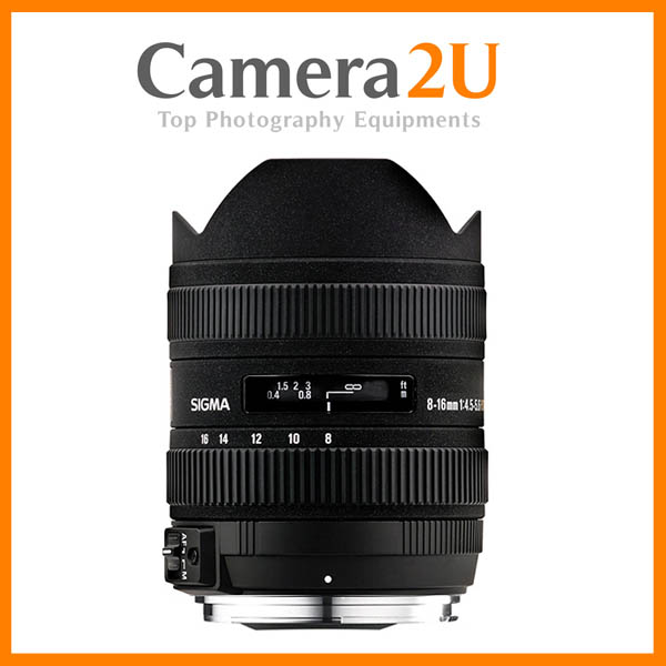 NEW Sigma 8-16mm F4.5-5.6 DC HSM For Canon Mount