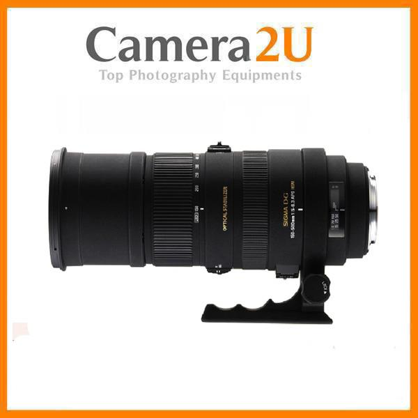 NEW Sigma APO 150-500mm F5-6.3 DG OS HSM Lens