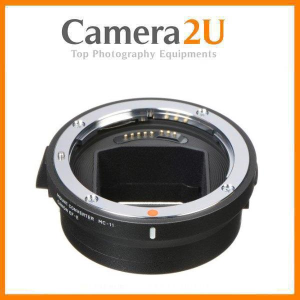 Sigma MC-11 Lens Mount Adapter Converter Canon EF Lens to Sony Camera