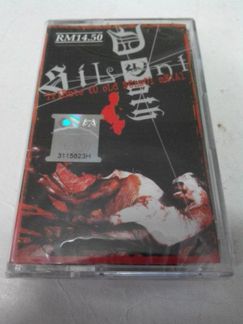 SILENT DEATH - TRIBUTE TO OLD SCHOOL METAL CASSETTE