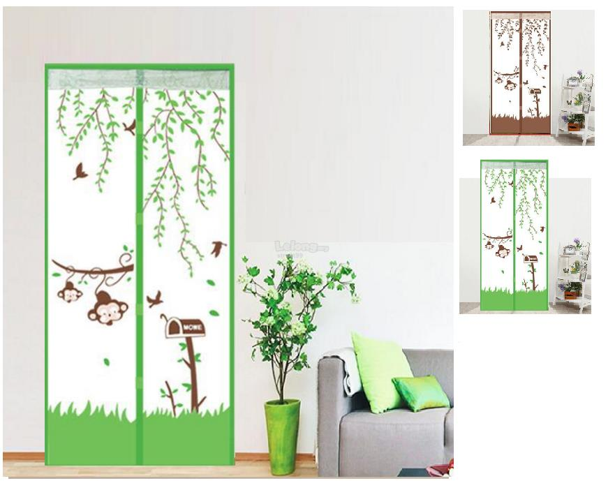 Silent Premium Magnetic Anti Mosquito Door Net Screen Multi Design