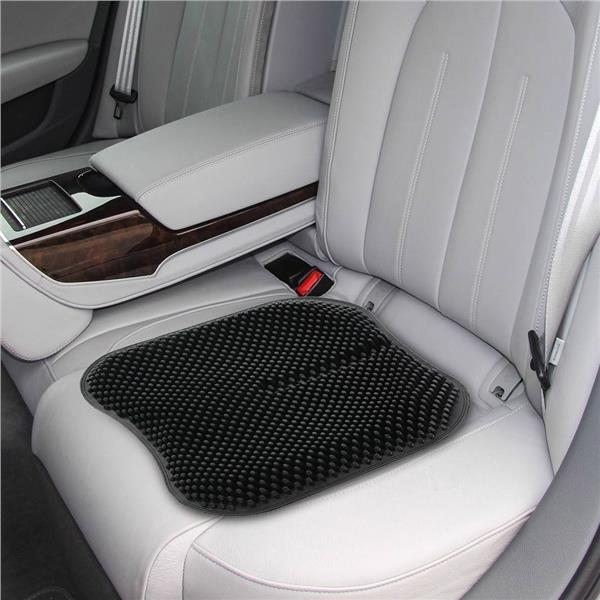 Silica Gel Car Seat Cushion Non Slip Chair Pad For Office 165 Inch