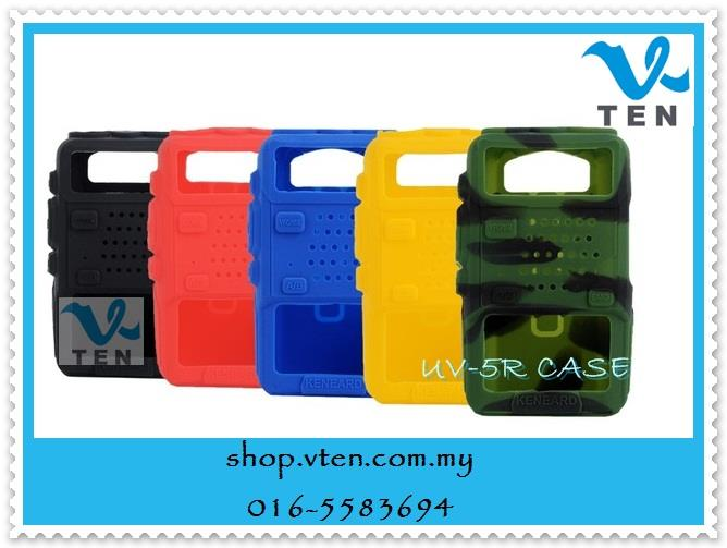 Silicon Case/Rubber Cover For Baofeng UV5R/UV5RA/UV5RB Walkie Talkie