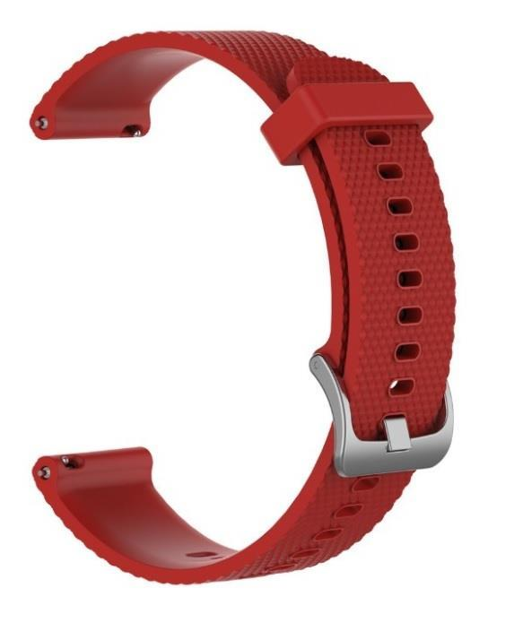 Silicone Band Strap For Garmin Vivoactive 4 Red (22mm)