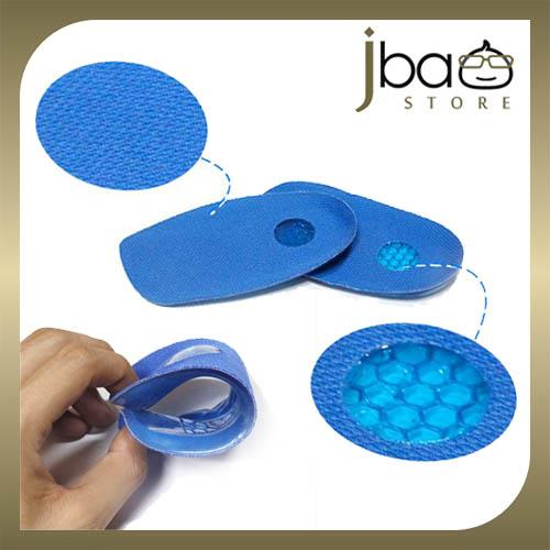 Silicone Gel Honeycomb Heel Spur Support Insole Foot Care Insoles