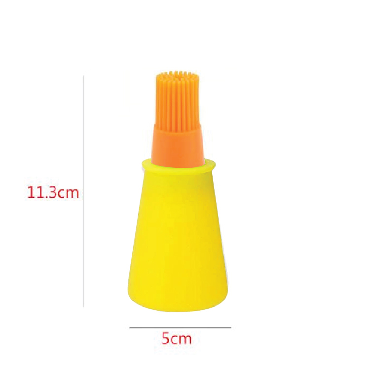 Silicone Oil Brush with Bottle Basting Oil Barbecue Tool Baking Pastry