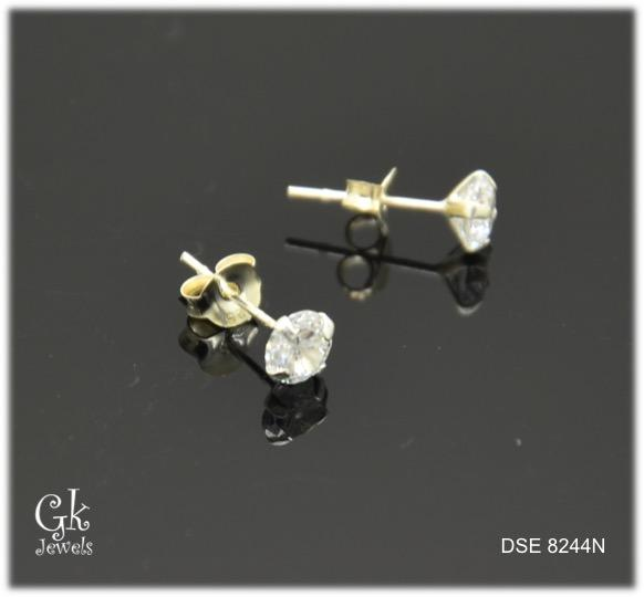 Silver Earring SE8244 (5mm)