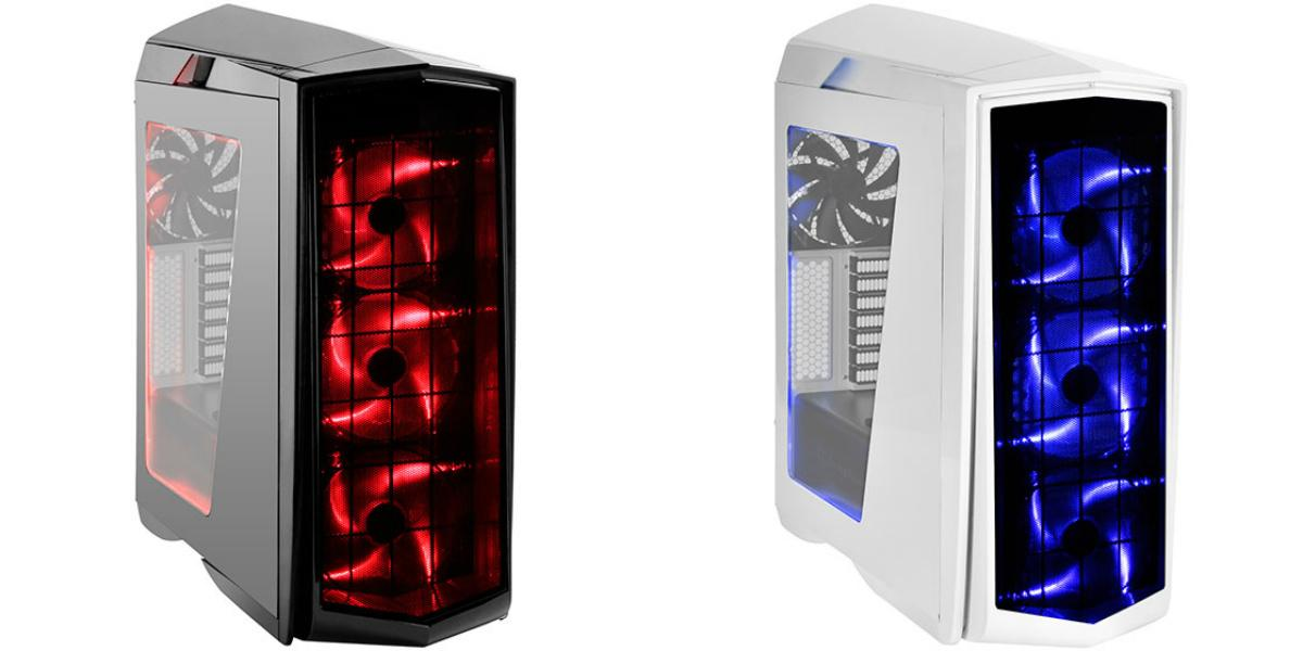 # SilverStone Primera PM01W PC Case # Black | White