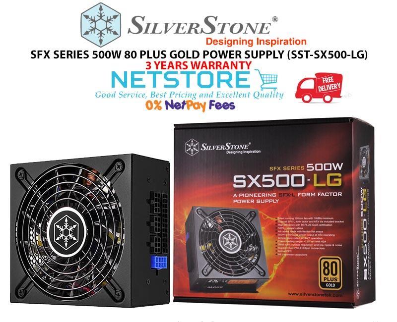Best Sfx Psu 2020 SILVERSTONE STRIDER GOLD 500W MICRO (end 7/12/2020 4:15 PM)