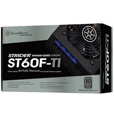 SILVERSTONE STRIDER TITANIUM 600W POWER SUPPLY (ST60F-TI)