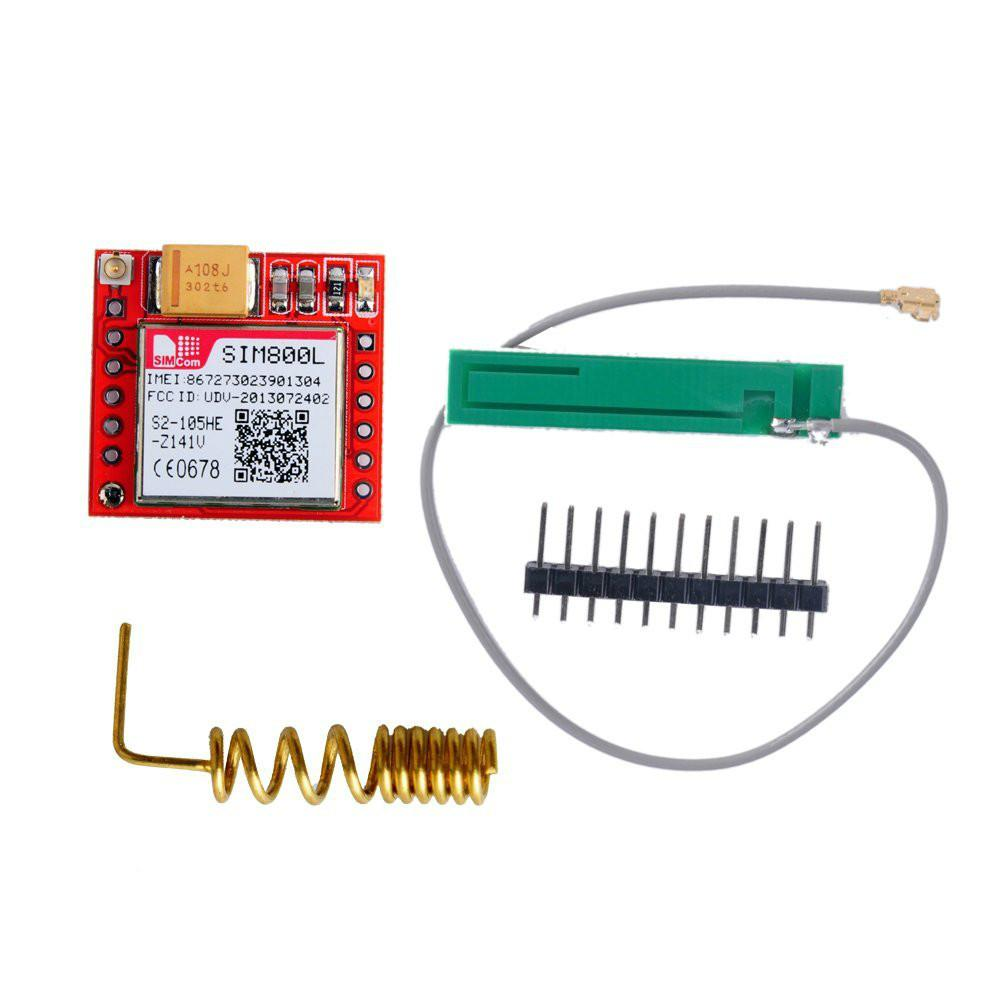 SIM800L GPRS GSM Module With Antenna And Micro SIM Slot For Arduino