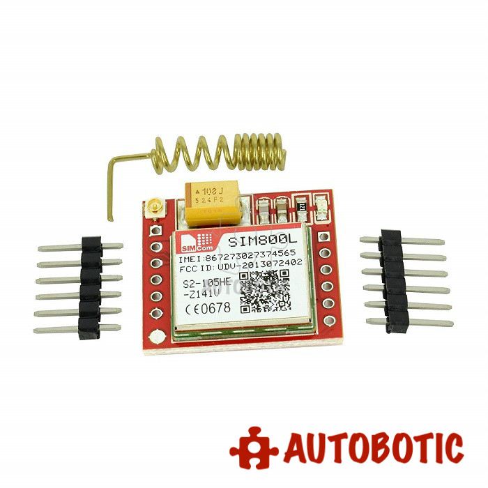 SIM800L GPRS GSM Module With Antenna And SIM Slot For Arduino