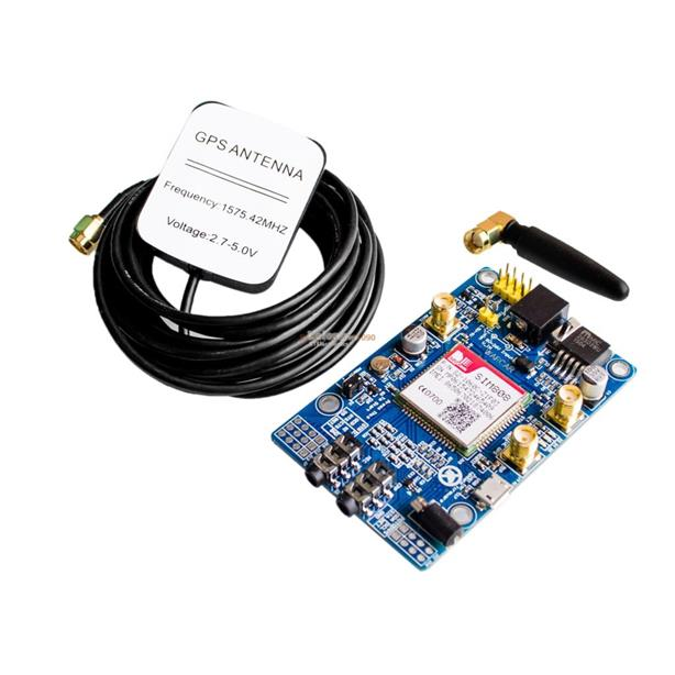 SIM808 GSM GPRS GPS Development Board IPX SMA with Antenna for Arduino