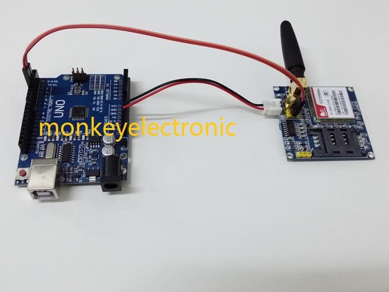 GSM Shield SIM900 Get Starting