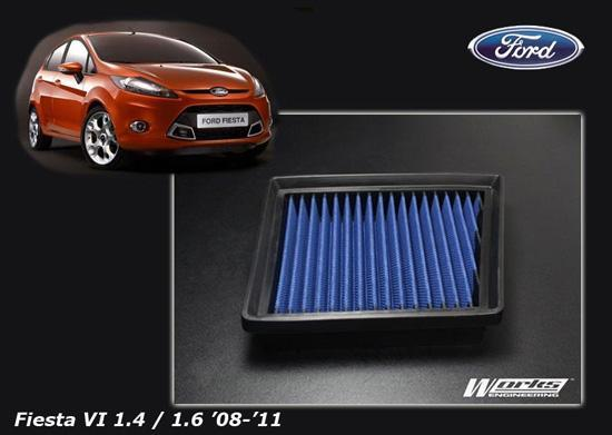 Simota High Flow Drop In Air Filter Ford FIESTA VI