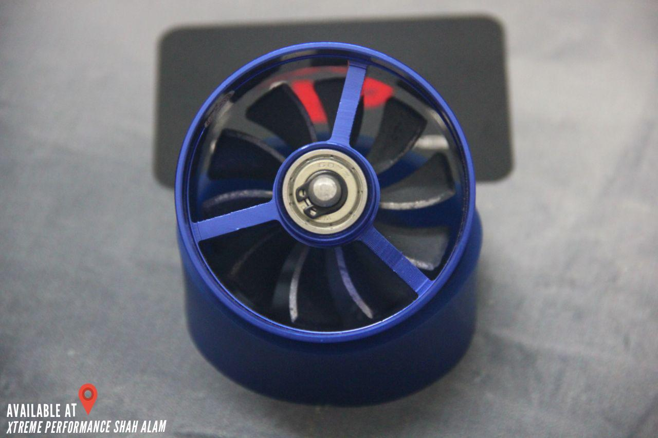 Simota Single turbo fan original Universal fit blue finish