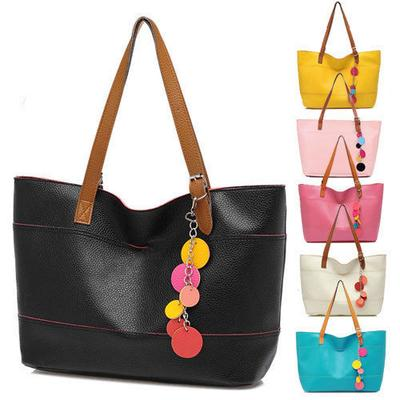 Simple Candy Colors Shoulder Bags Hobo Bag Casual Handbag Tote Bags