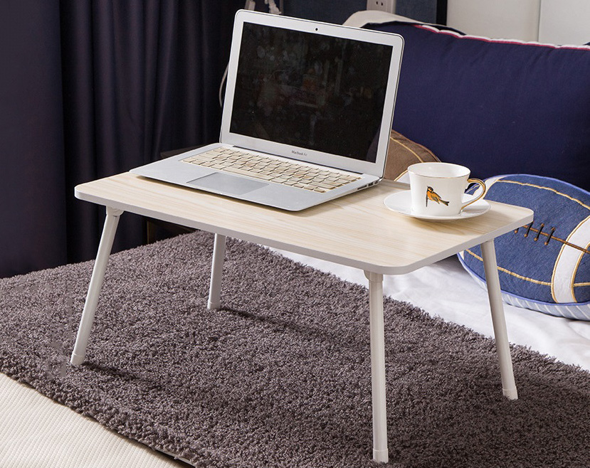 adjustable laptop tilting bed foldable products lap table top for serving zeny tray bamboo breakfast desk