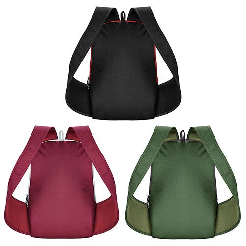 Simple-mate Nylon 3 Colors Backpack Laptop Bag Fashion Trendy Unisex