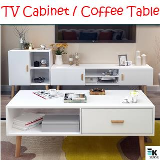 Simple Modern Living Room TV Cabinet Coffee Table (1 month pre order)