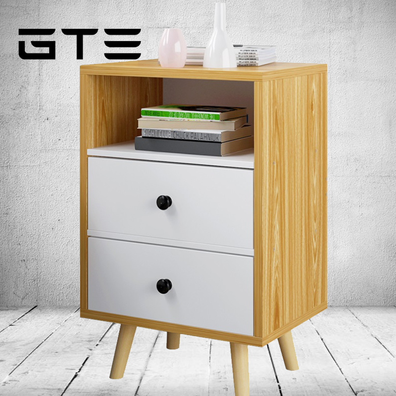 Simple Stylish Bedside Table Side Cabinet Small Cabinet Locker (A1276)