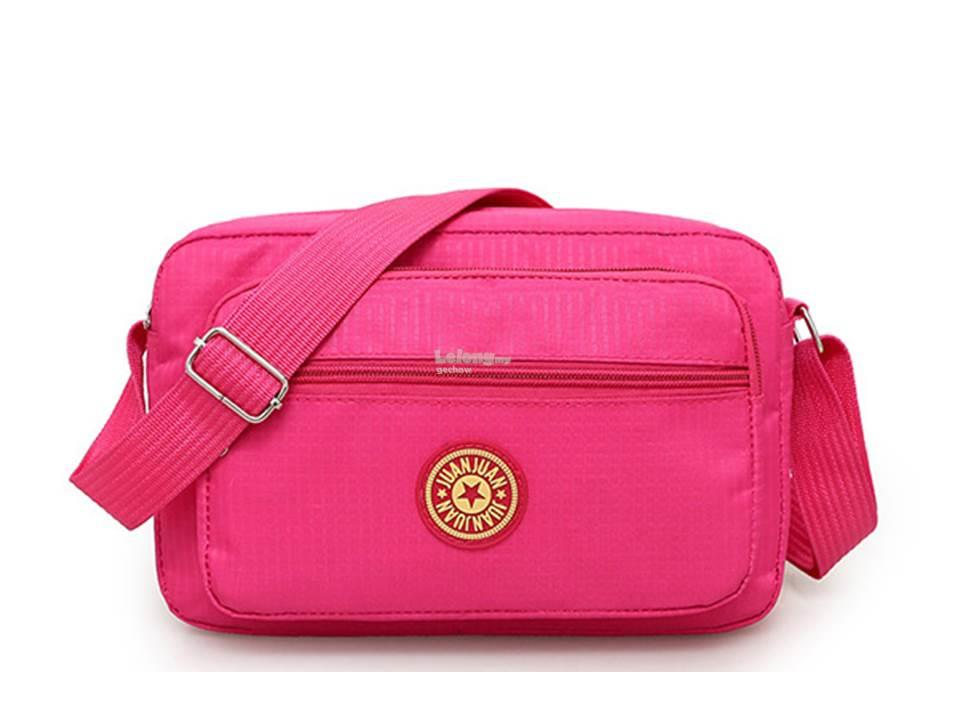 Simple waterproof Oxford Cloth. Wallet ladies bag (Rose color) (Rose c