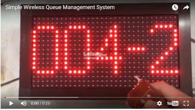 Simple Wireless Queue Management System