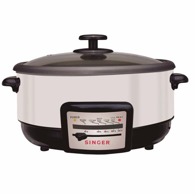 Singer MC50A Electric Multi Cooker (White)